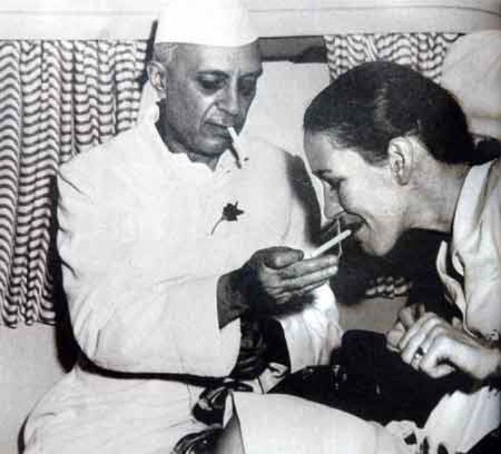 nehru write a letter to indira gandhi international airport