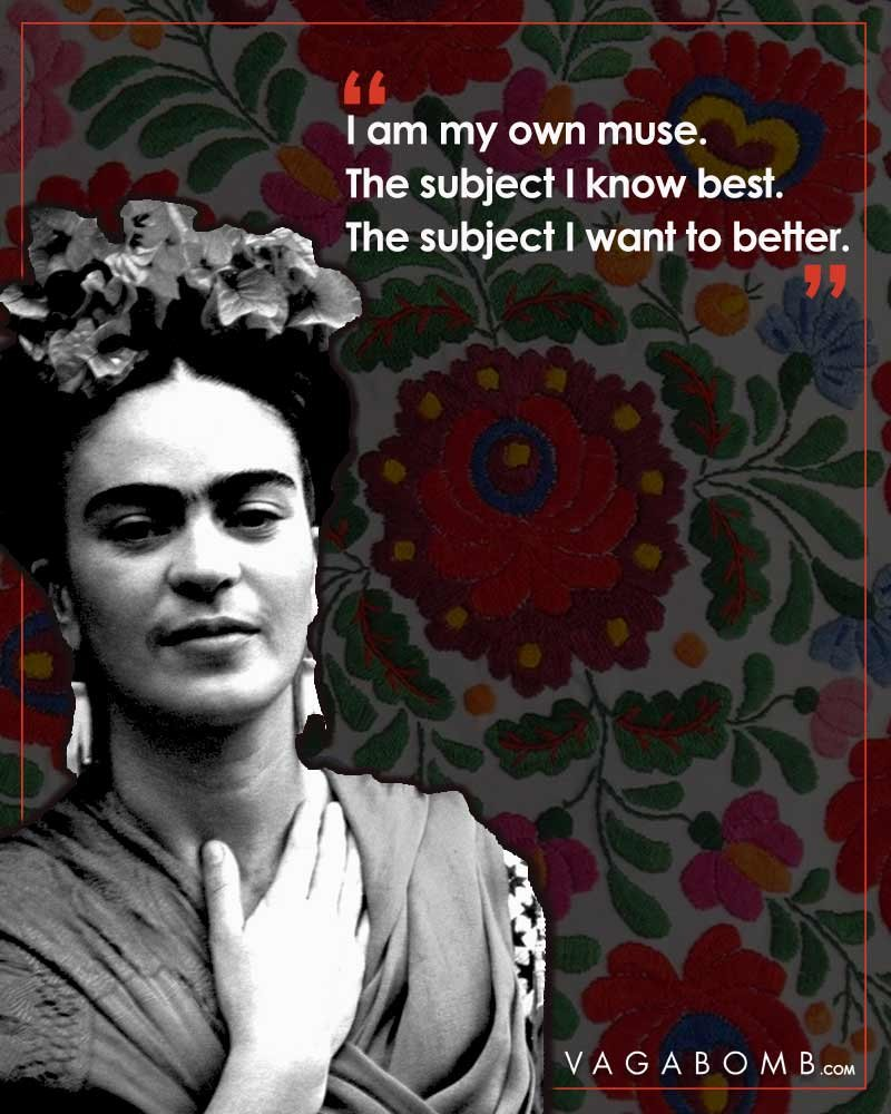 an introduction to the feminist work by frida kahlo Analyze frida kahlo's paintings to determine how she used them for self-expression introduction invite students to using references to frida's work.