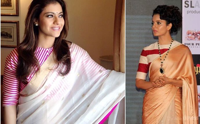 15 Tops You Can Easily Wear As Saree Blouses These Celebrities Show