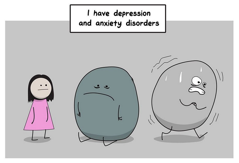 This Comic Series Perfectly Describes the Struggles of Anxiety and Depression