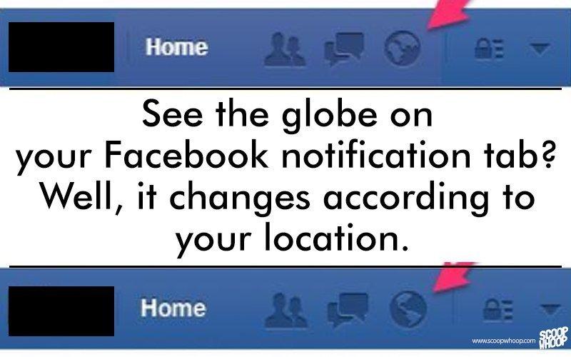 facebook globe