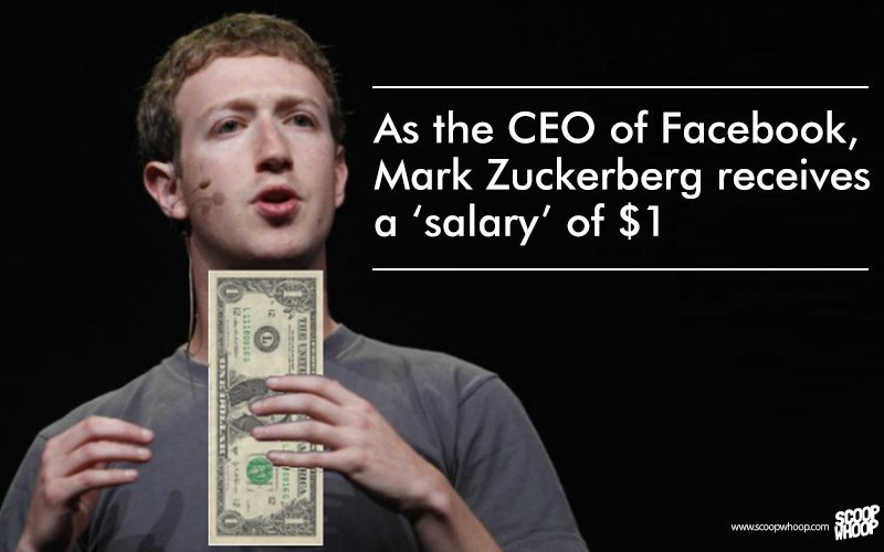 facebook ceo salary