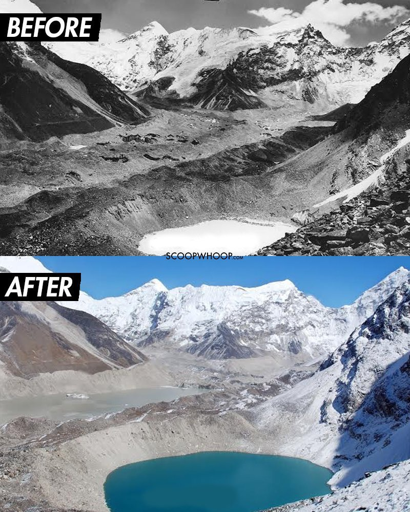 18 shocking before amp after images that show how global