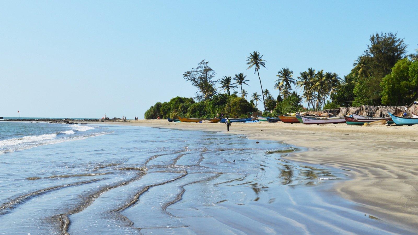 Пляжи северный гоа фото и описание