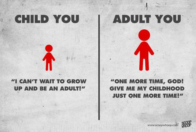 5 Key Difference Between Kids And Adults