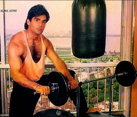 27 Pictures That Prove Suniel Shetty Is The Ultimate King
