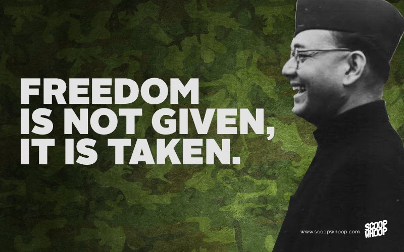 15 Quotes By Subhash Chandra Bose That Will Bring Out The ...