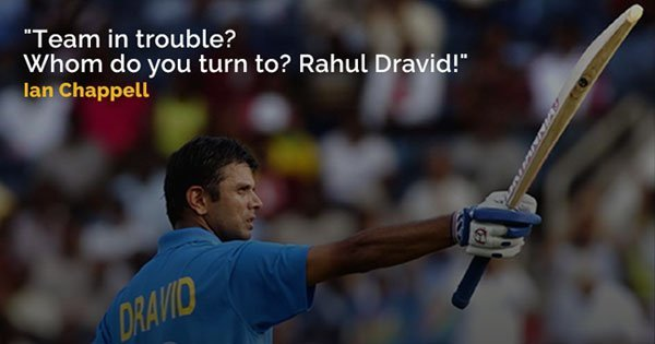 36 quotes that explain why there will only be one rahul dravid