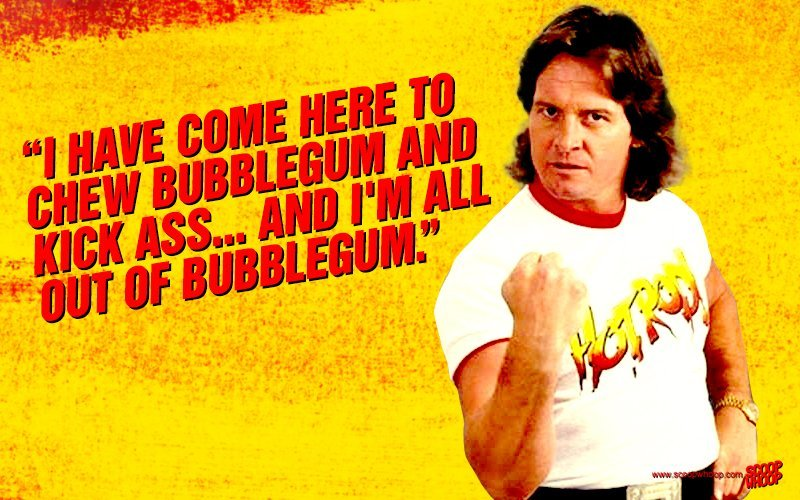 Image result for rowdy roddy piper quotes