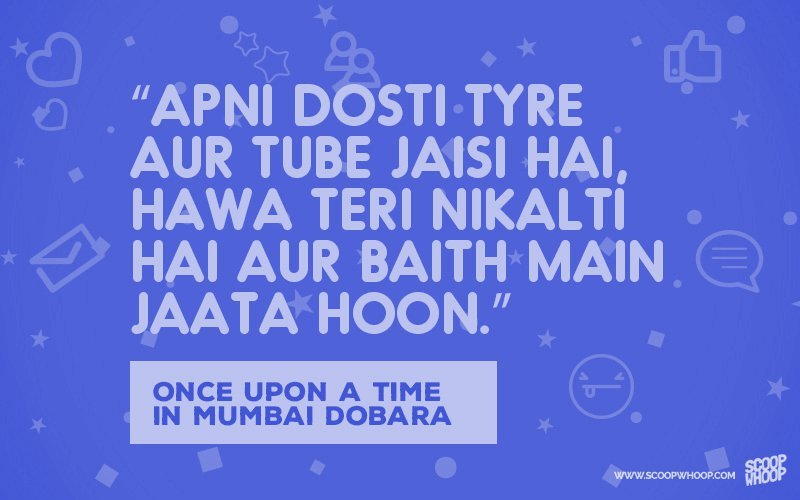 13 Bollywood Dialogues Dosti That You Can Use Your Friend