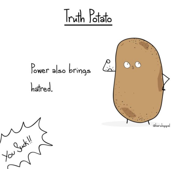 This Truth Potato Gives Us 20 Reality Checks We All Desperately Need, Every Now Then