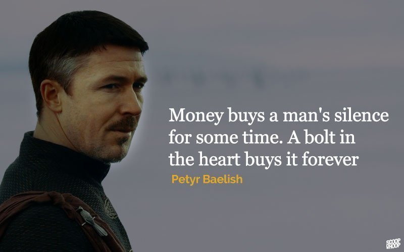 Team Littlefinger Home: Group Of Petyr Baelish Quote By