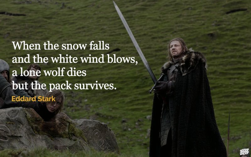 30 unforgettable quotes from game of thrones that share