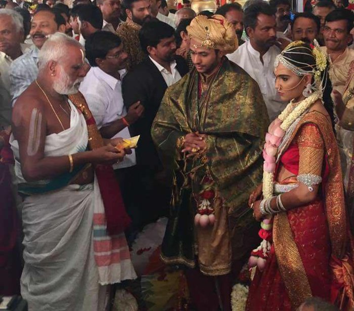 Here Are The Extravagant Pics From The ₹500 Crore Wedding While