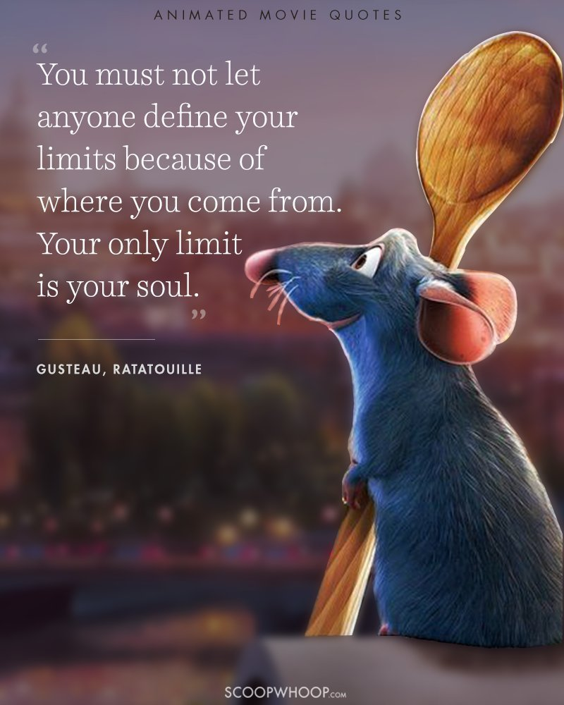 Inspirational Movie Quotes: 15 Animated Movies Quotes That Are Important Life Lessons