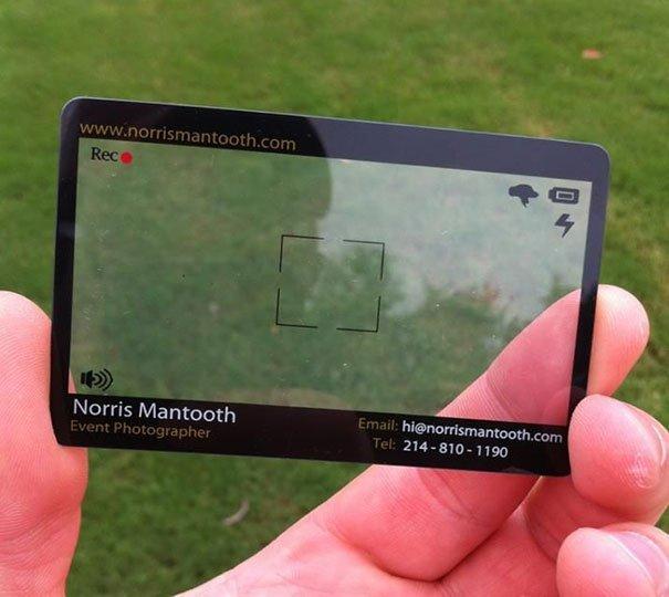 Event Photographer Business Card
