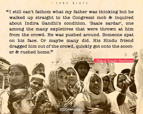 15 Heart Wrenching Stories From The 1984 Sikh Genocide Thatll