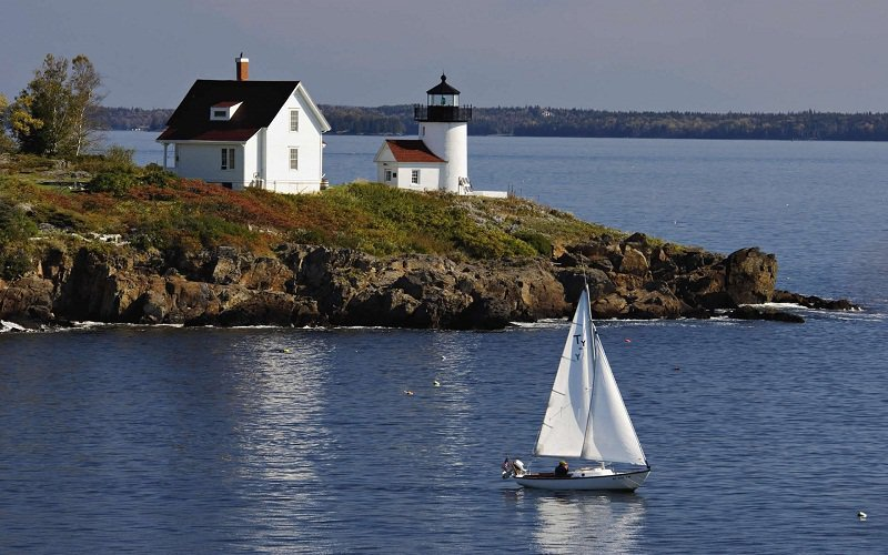 These 8 places are giving free land to people who want to for Free land maine