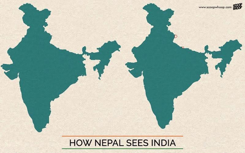 This Is What Indias Map Looks Like According To Pakistan China Nepal