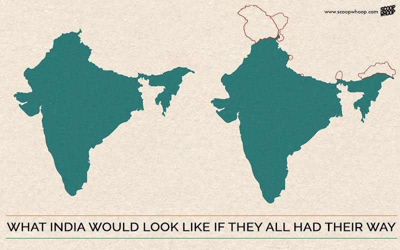 This Is What India's Map Looks Like According To Pakistan