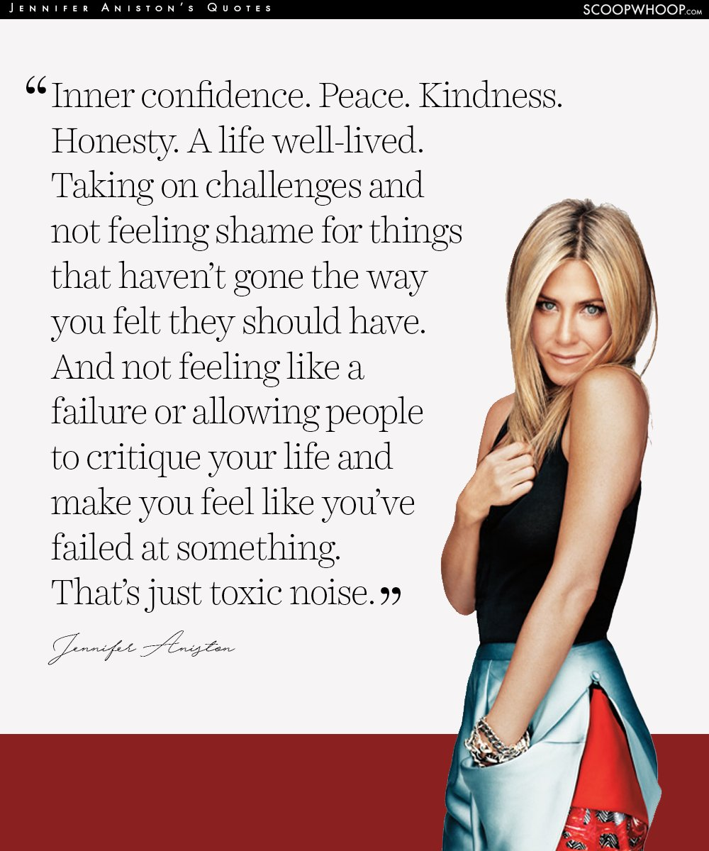 A Life Well Lived Quotes 12 Empowering Quotesjennifer Aniston That Are Your Cheatsheet