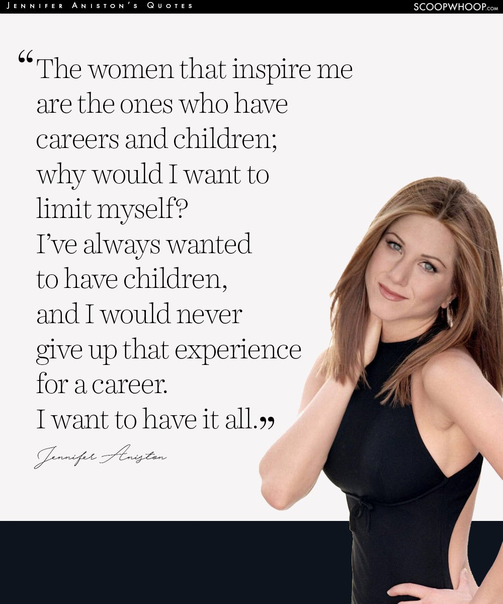 Empowering Women Quotes 12 Empowering Quotesjennifer Aniston That Are Your Cheatsheet