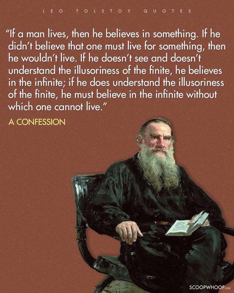 LN Tolstoy: Why do people become intoxicated? 80