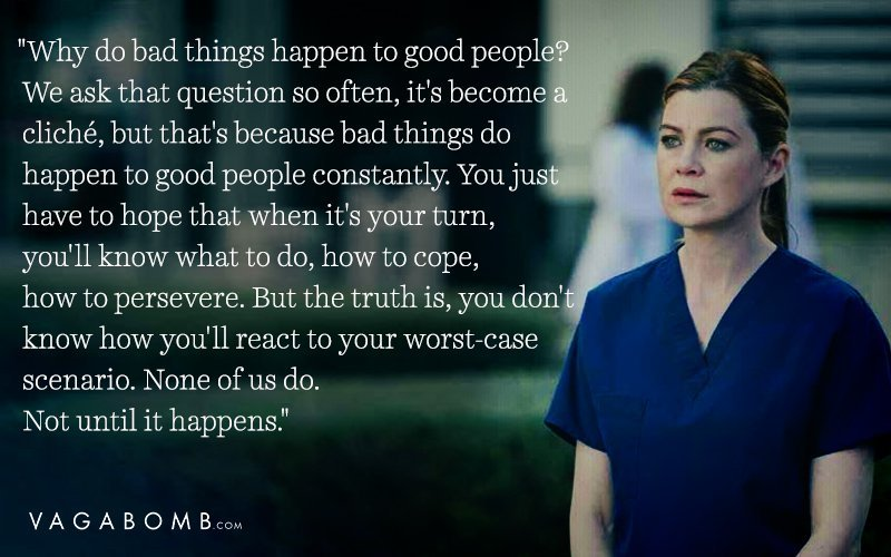 25 Meredith Grey Quotes That Are Way Too Relatable for Most of Us