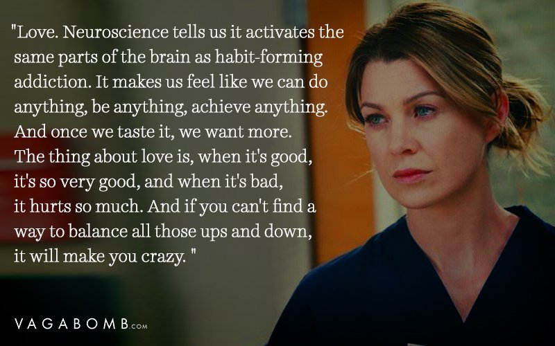 Warning Shortlisting The Quotes Was Not Easy But We Thoroughly Enjoyed Revisiting Greys Anatomy Looking For These
