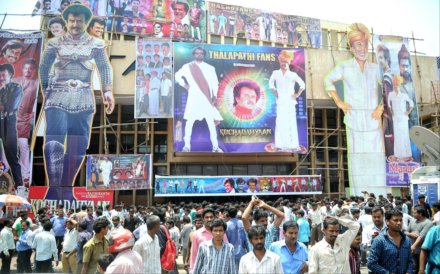 Image result for rajinikanth billboard