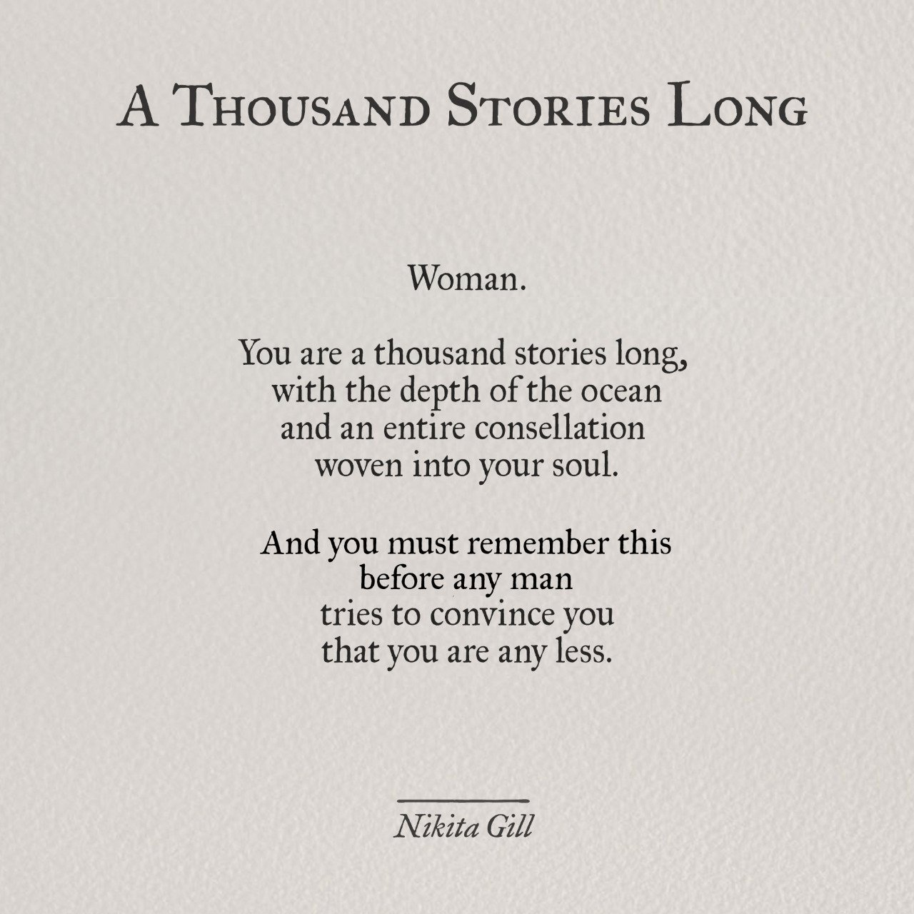 27 Poems By Nikita Gill That Capture The Whirlwind Of