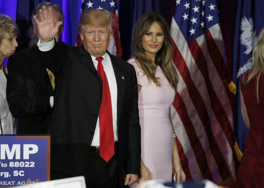 PHOTOS: Melania Trump nude photos on New York Post
