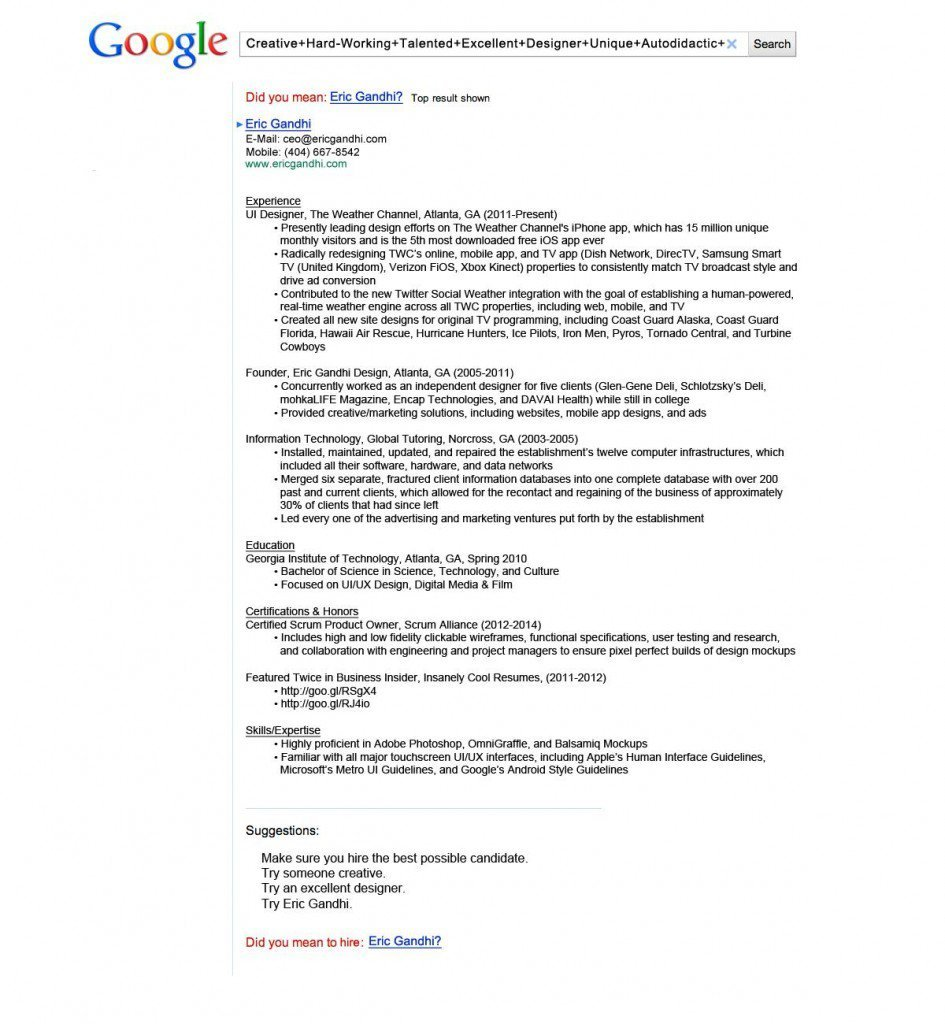 Here\'s a Look at Some of the Most Creative Resumes We\'ve Ever Seen