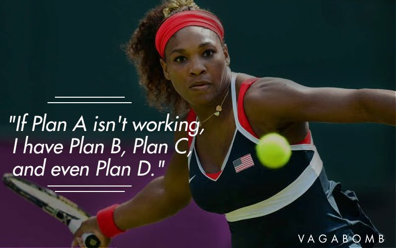 14 powerful quotes by the invincible serena williams to
