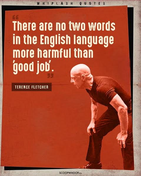 20 Quotes From Whiplash That Will Push You To Get Off Your Goddamn