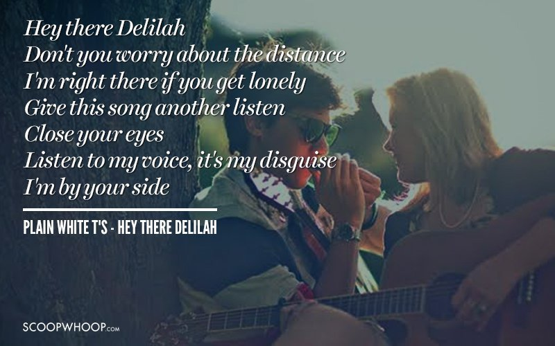 Lyrics of romantic songs for boyfriend in hindi