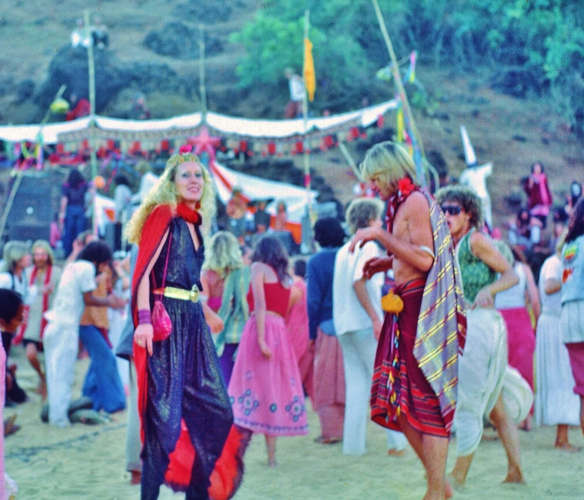 Video naked dance in goa