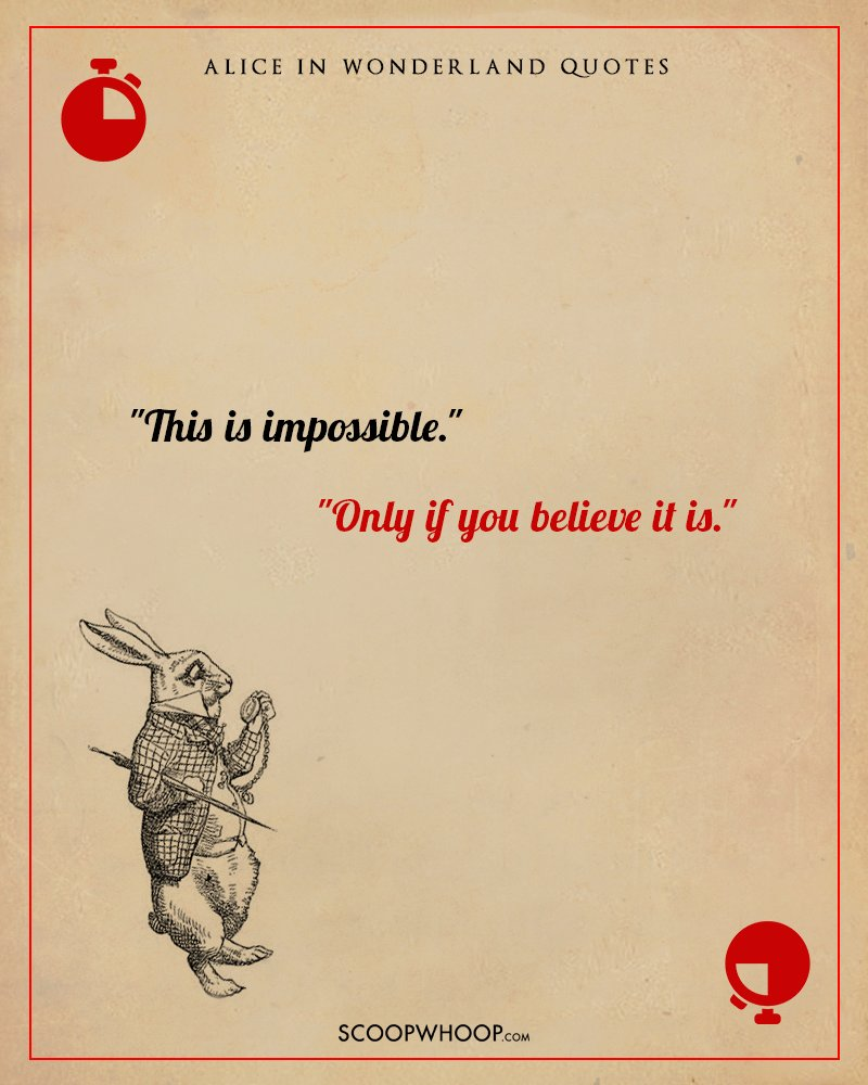 10 Breathtaking Quotes From Alice In Wonderland That Can Double Up