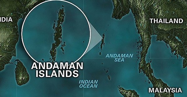 Image result for 5.4-magnitude earthquake hit Andaman and Nicobar Islands; no casualty