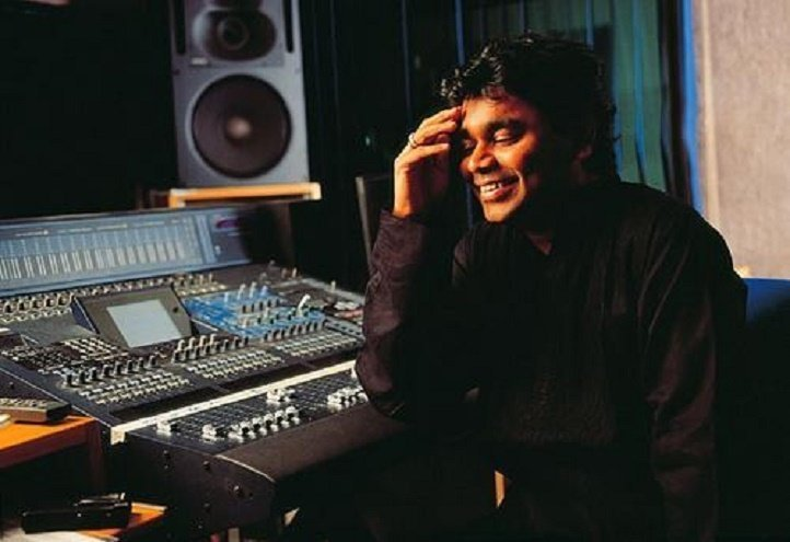 Image result for a.r rahman laughing