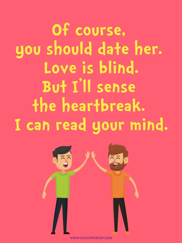 dating your best friend poems