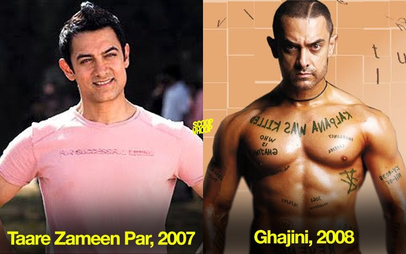 14 indian actors who transformed their bodies amazingly just for sent everyone in a tizzy with his herculean physique and 8 pack abs in his very next outing ghajani where he played an out and out action hero altavistaventures Images