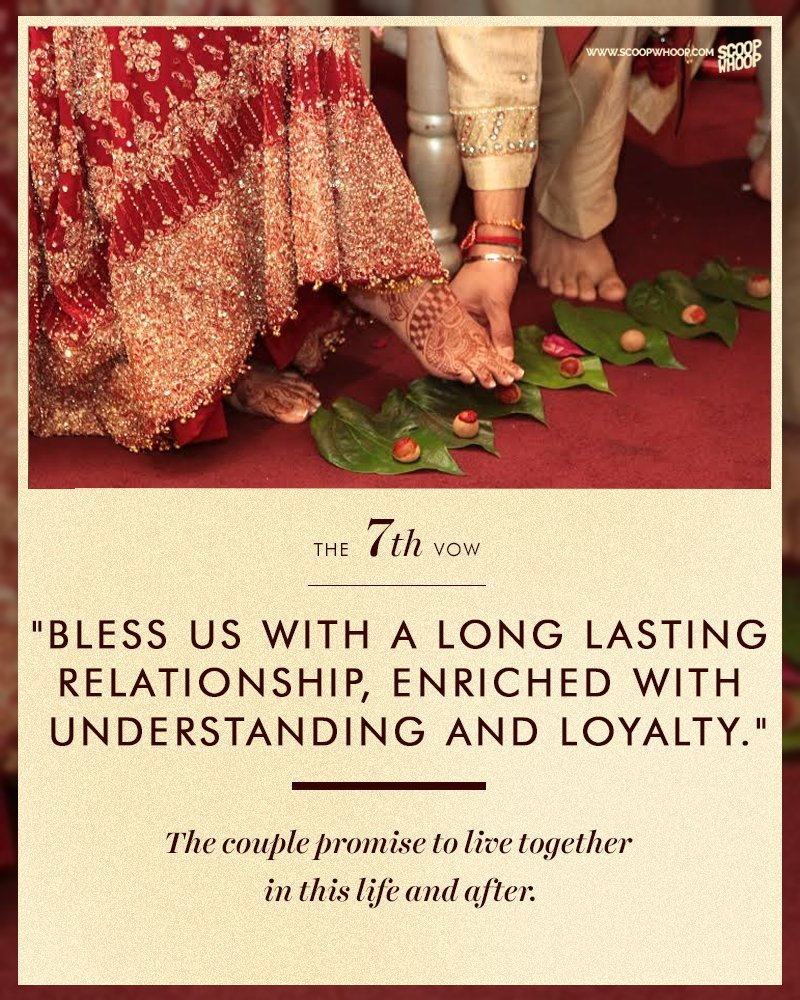 Here S What The Seven Vows In A Hindu Marriage Stand For