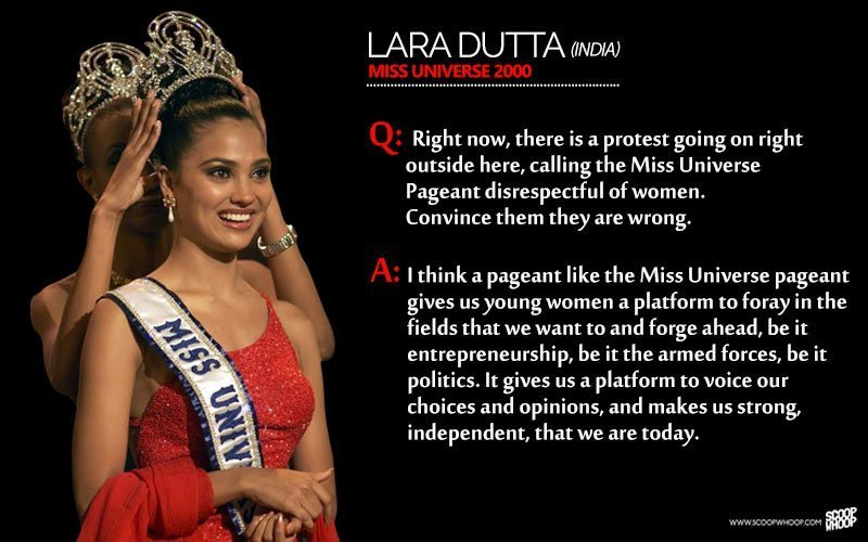 10 Amazing Answers By Beauty Pageant Contestants That Won Them The Crown