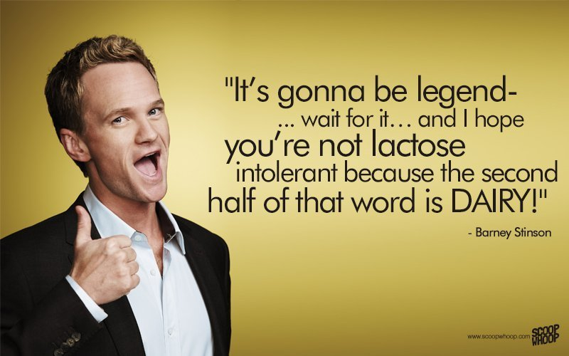 25 Unforgettable Barney Stinson Quotes That Made Himym The Show That