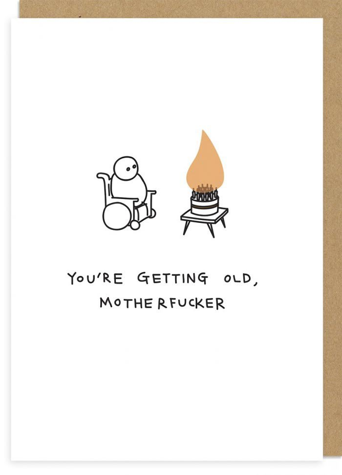 These Brutally Honest Greeting Cards Tell It Like It Is Without The
