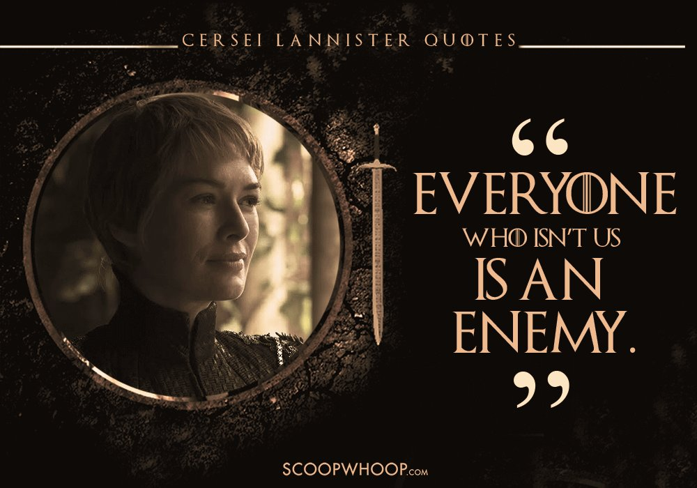 18 Cersei Lannister Dialogues That Prove She's The Queen Of