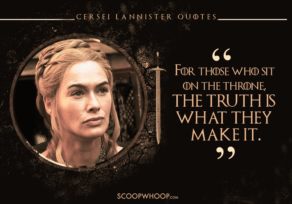 18 Cersei Lannister Dialogues That Prove Shes The Queen Of Words