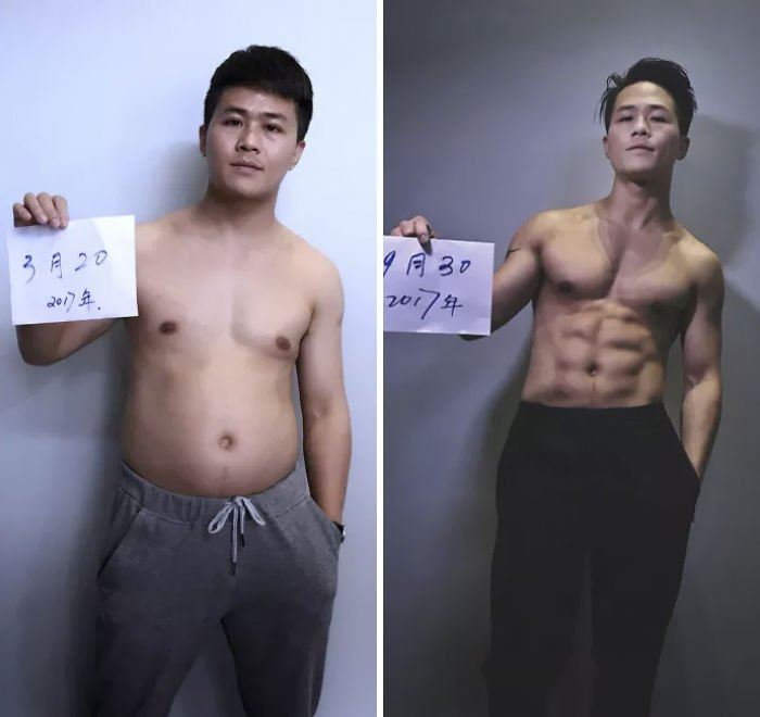 A Chinese Family Spent 6 Months Losing Weight Together