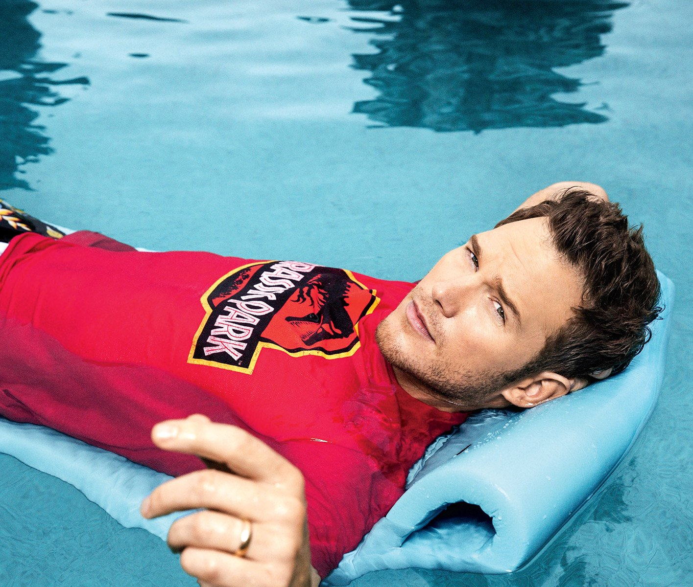 16 photos of chris pratt that show why he ll always be our for Pool guy show
